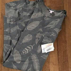 Feather LulaRoe Carly